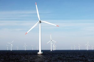 Denmark, with a pioneering wind-power program, is above 40 percent renewable power on its electric grid. It wants to be off fossil fuels by 2050. Credit: European Press photo Agency/E.ON/HO